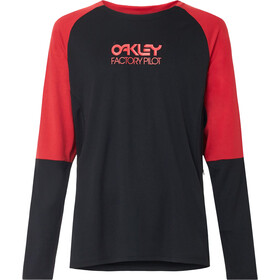 Oakley Switchback Trail LS Tee Men, blackout